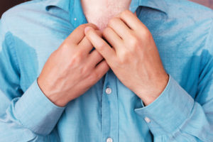 is it normal sweat or hyperhidrosis?